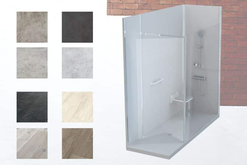 EcoShowerConfigurateur 3D salle de bain