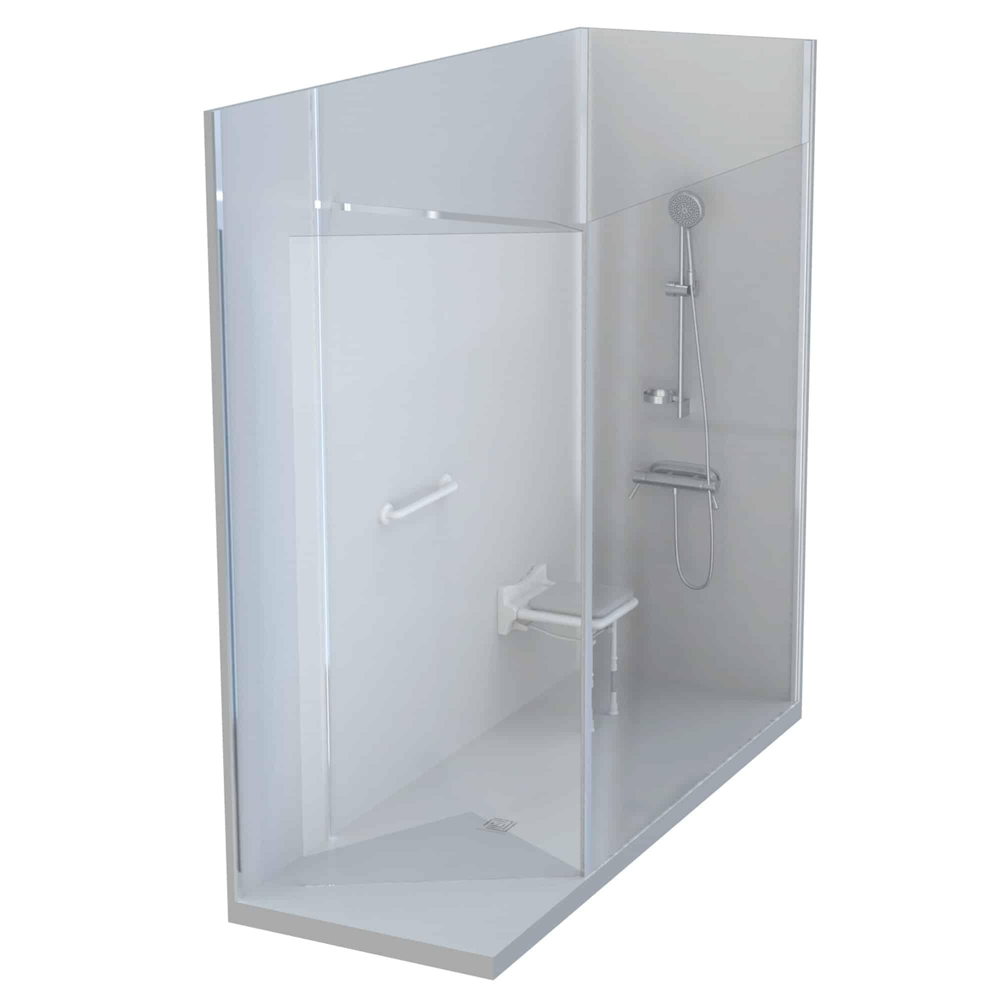 douche sur mesure ECOSHOWER