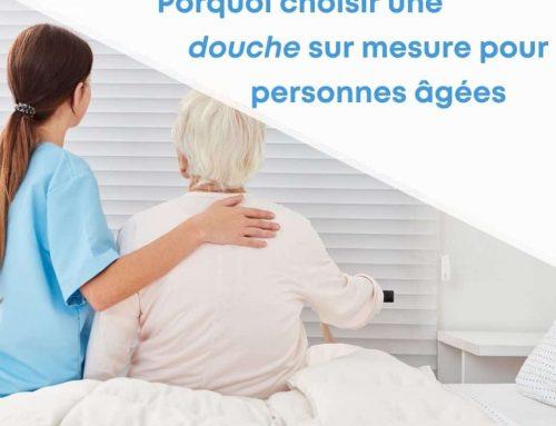 Porquoi choisir une douche sur mesure pour personnes âgées