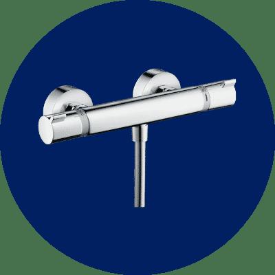 robinet thermostatique douche senior