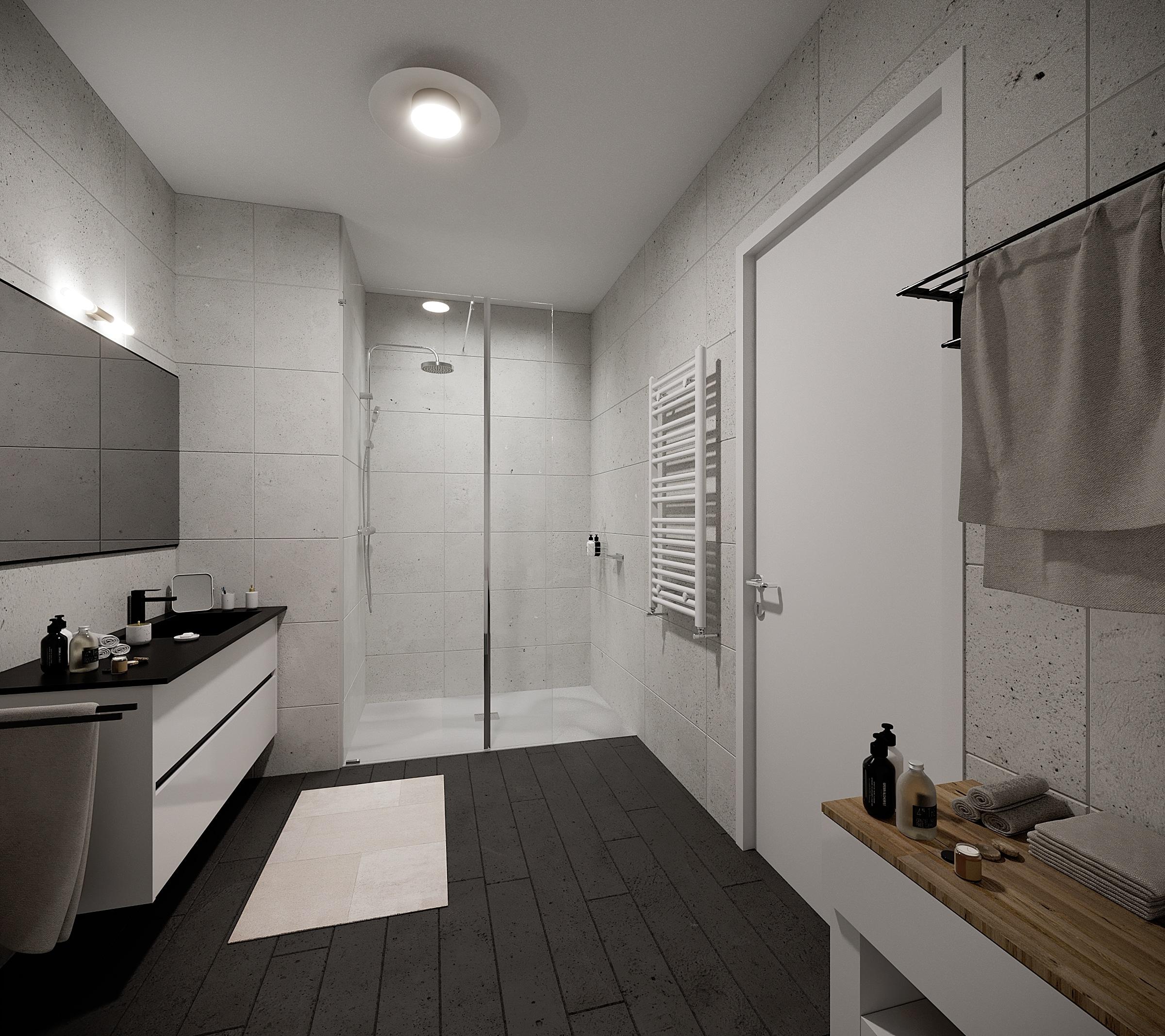 Renovation complete salle de bain Ecoshower