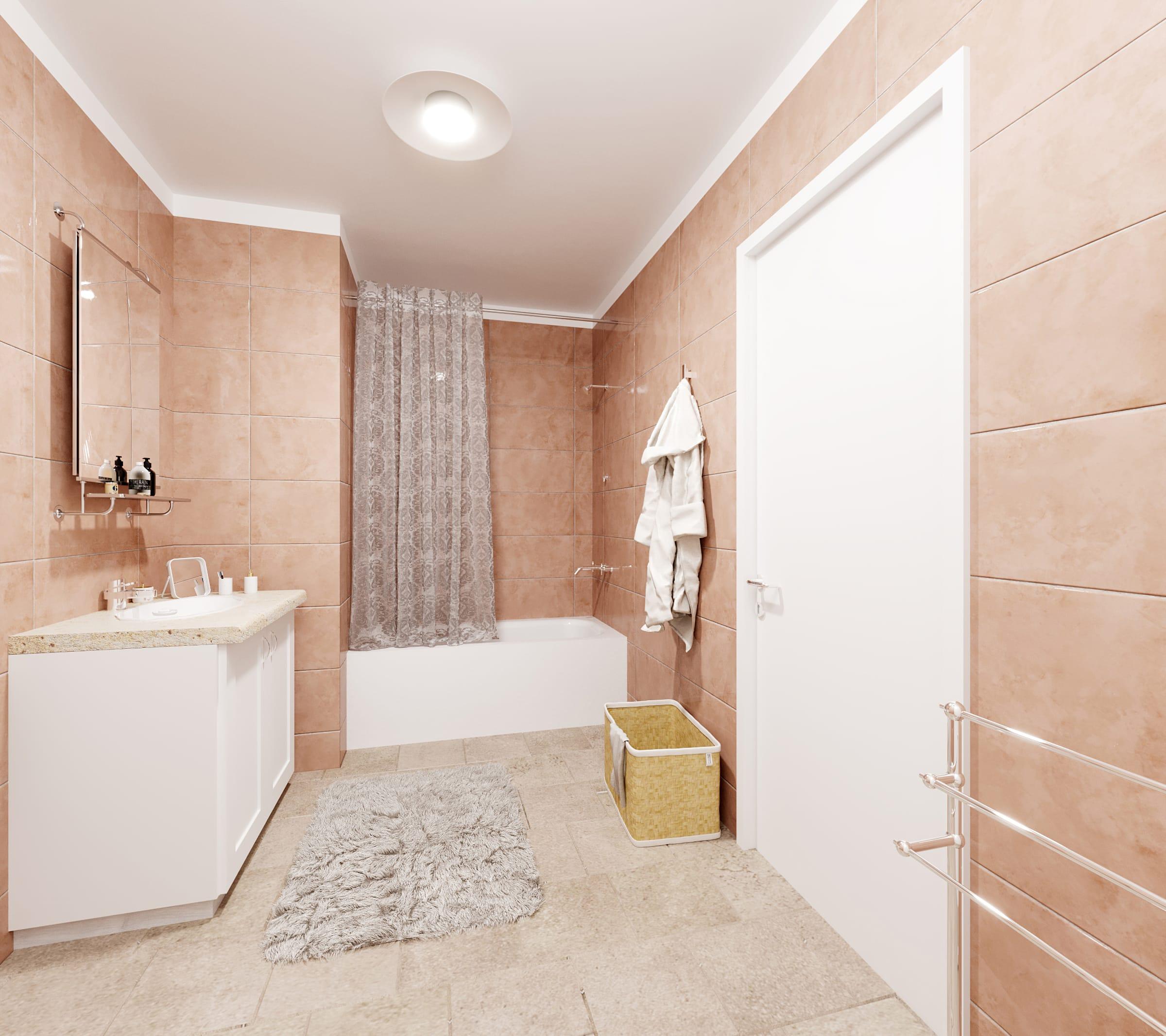 Salle de bain Avant ecoshower